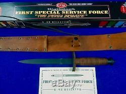 Us 1998 Cas V-42 Devils Brigade Stiletto Fighting Couteau Poignard Gaine Boîte Cert
