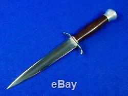 Us Ww2 Main Personnalisée Théâtre Stiletto Fighting Couteau Dague Avec Gaine