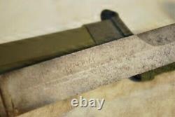 Us Wwii Tranchante M8 Ai Fighting Couteau Dague M3 Imperial Originale Fourreau Signé