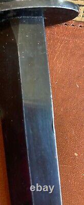 Véritable Original Ww2 Commando Sykes Fairbairn Fighting Knife Dagger Avec Gaine