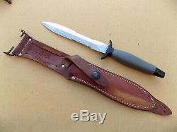 Vietnam Era Gerber Mark 2 Mk II Fighting Knife Dagger Fait En 1973