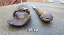 Vieux Nice Guerre Du Vietnam De L'époque Théâtre-made En Acier Au Carbone Dagger Boot Ou D'un Couteau Fighting