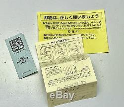Vintage 1980' Al Mar Seki Japon Fighting Dague Couteau Fourreau Monnaie