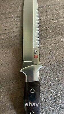 Vintage 1980' Al Mar Sere Seki Japon Couteau De Lutte Dagger