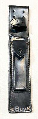 Vintage 1980' Al Mar Sere Seki Japon Fighting Dague Couteau Gaine