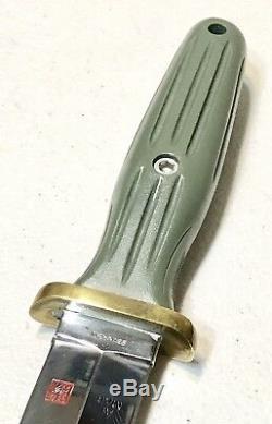 Vintage Al Mar Applegate Fairbarn Seki Japon Boot Dague Couteau Original Gaine