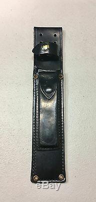 Vintage Al Mar Modèle 3005,6 Sere Fighting Couteau Dague Micarta Poignée Gaine