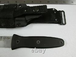 Vintage Blackjack Blackmoor Us2000 Dagger Fighting Knife With Sheath USA Made