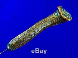 Vintage Coutume Britannique Anglais Écossais Fairbairn Sykes Fighting Knife Dagger
