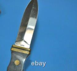 Vintage Explorer Couteau De Démarrage Dagger Modèle 21-295 Japon + Gaine En Cuir