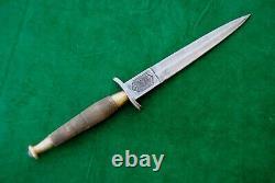 Vintage Fairbairn Sykes Commando Angleterre British Fighting Knife Dagger Khanjar