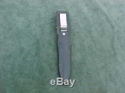 Vintage Gerber Dagger U. S. A. Guerre Fighting Side Couteau C5365s Utilisé