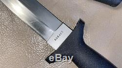 Vintage Gerber Tac II 2 Combat Dague Couteau Tactique Très Rare Dur Gaine
