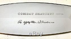 Vintage Militaire Boker Solingen Applegate Fairbarn Combat Smatchet Dague Couteau
