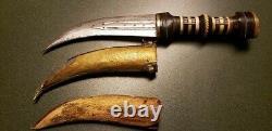 Vintage Syrie Main Made Made Jambiya Dague Couteau De Combat Agréable