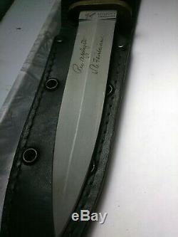Vintage USA Blackjack Applegate Fairbairn Commando Dagger Fighting Couteau, Gaine