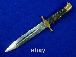 Vintage Ww2 Période Moyen-orient Petite Dagger Fighting Couteau Avec Étui