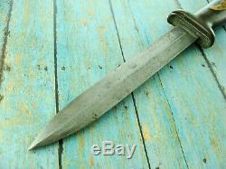Vintage Ww2 Utica Nous M3 Fighting Trench Theater Commando Dagger Combat Couteau
