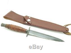 Vtg C. I. Compass Fukuta Seki Japon Fairbairn Sykes Commando Combat Dague Couteau