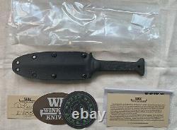 Winkler Knives Gbrs Group Combat Dagger (noir)