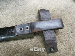 Ww1 Tranchée Allemande Couteau Demag Kampfmesser Combat Poignard De Tranchée
