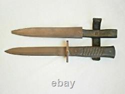 Ww1 Wwi Armée Allemande Couteau De Combat Trench Poignard