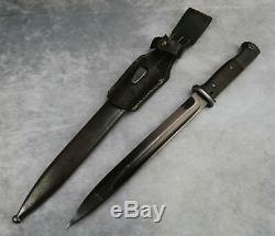 Ww2 Allemand # Correspondance Baïonnette De Combat Avec 1940 Couteau Poignard Épée Cintre Grenouille Ceinture