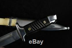 Ww2 Allemand Fighting Couteau Dague K98 Fourreau Mauser 37576 Armée Bulgare Seconde Guerre Mondiale