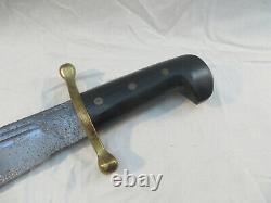 Ww2 Case XX Bowie Fighting Knife V44 V-44 Bien Usé Vétéran Vétérinaire Trouver