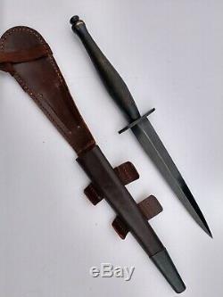 Ww2 Commando Britannique Fairbairn Sykes 2nd Modèle B2 Minty Poignard Couteau De Combat