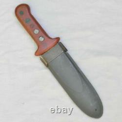 Ww2 Ère Américaine Poignard De Combat / Couteau De Démarrage Fait À Partir De Lame M1905, Nord Fourreau