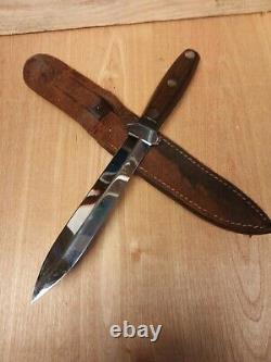 Wwiicase Xxpig Stickerfighting Couteau De Combat Dagger Arme Avec Sheathrare